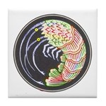 Bright Shrimp Tile Coaster