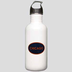 Chicago Orange Blue St Stainless Water Bottle 1.0L