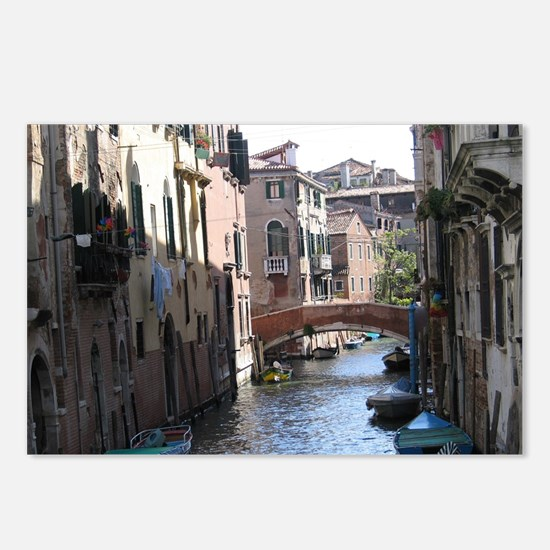 Venice Canal Postcards (Package of 8)