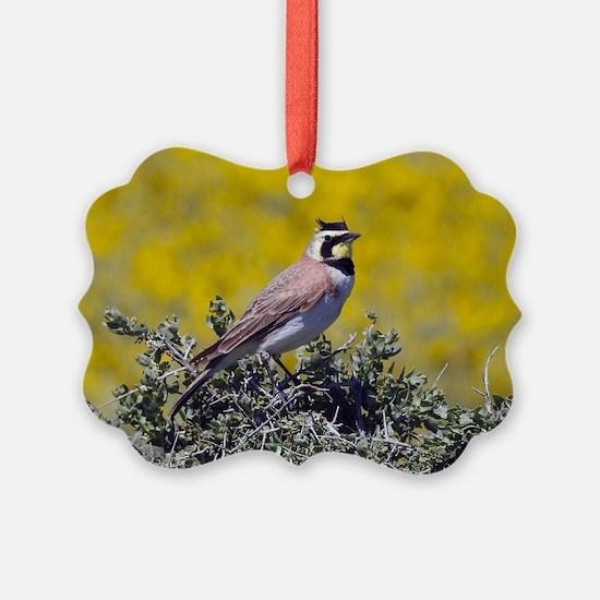 Horned Beauty Ornament