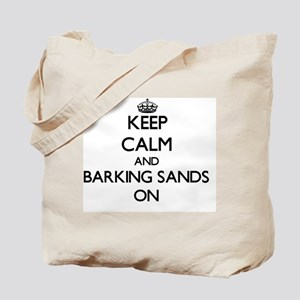 Keep calm and Barking Sands Hawaii ON Tote Bag