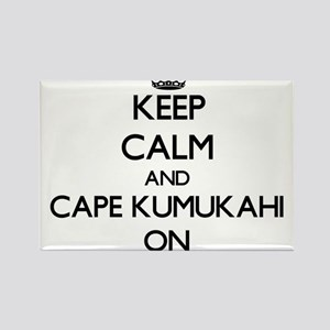 Keep calm and Cape Kumukahi Hawaii ON Magnets