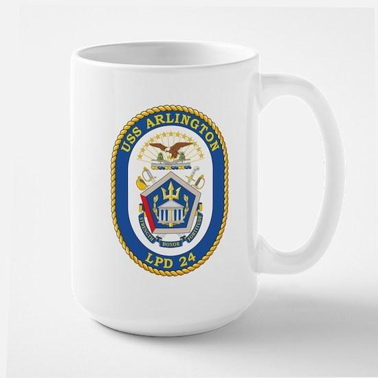 USS Arlington LPD-24 Mugs