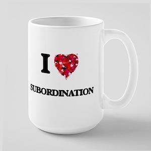 I love Subordination Mugs