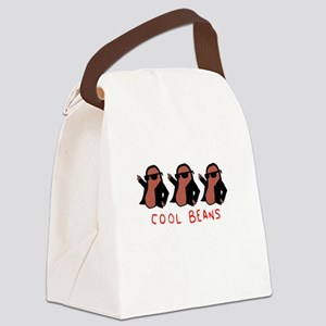 cool beans leather gang Canvas Lunch Bag