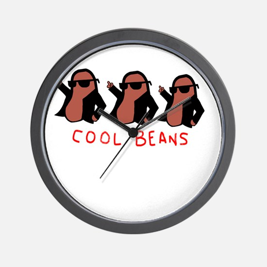 cool beans leather gang Wall Clock