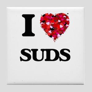 I love Suds Tile Coaster