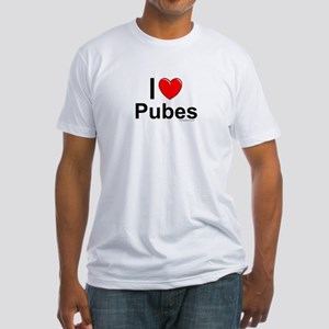 Pubes Fitted T-Shirt