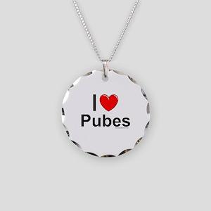Pubes Necklace Circle Charm