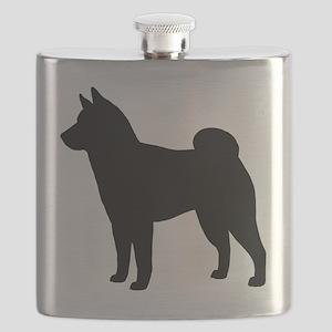 Shiba Inu Flask