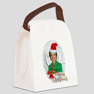 merry xmas Hillary clinton Canvas Lunch Bag