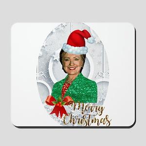 merry xmas Hillary clinton Mousepad