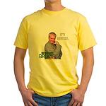 It's Bedtime Yellow T-Shirt