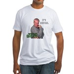 It's Bedtime Fitted T-Shirt