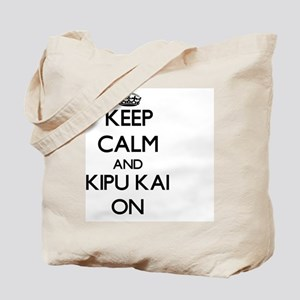Keep calm and Kipu Kai Hawaii ON Tote Bag