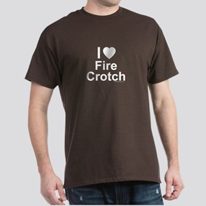 Fire Crotch Dark T-Shirt