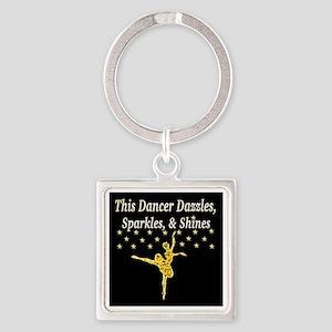 GORGEOUS DANCER Square Keychain
