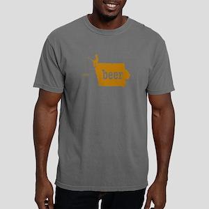 Ice Fishing Beer IA Ice Fishing Dad Fishin T-Shirt