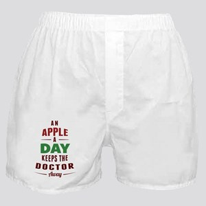 An Apple A Day... Boxer Shorts