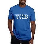 Tae Kwon Do TKD Men's Fitted T-Shirt (dark)