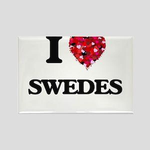 I love Swedes Magnets