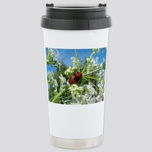 luck beetle Stainless Steel Travel Mug