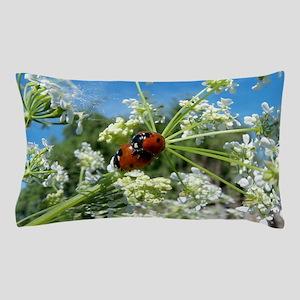 luck beetle Pillow Case