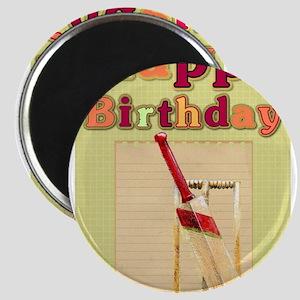 Cricket Happy Birthday Magnets