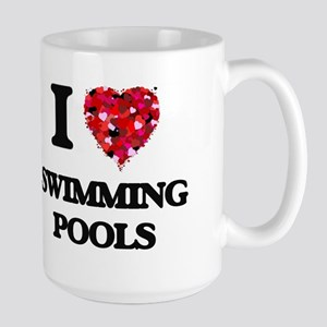 I love Swimming Pools Mugs