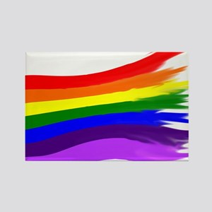 Pride Flag Rectangle Magnet