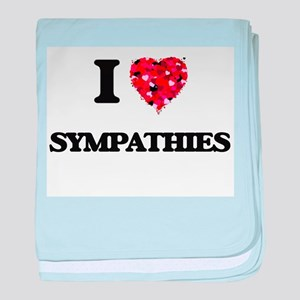 I love Sympathies baby blanket