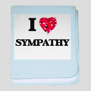 I love Sympathy baby blanket