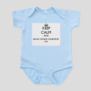 Keep calm and Bahia Honda Sandspur Flori Body Suit