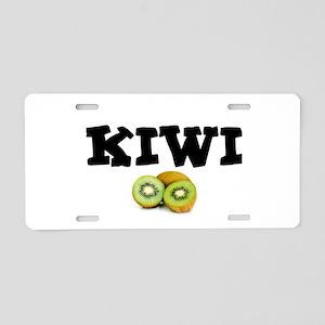 KIWI FRUIT - THONG! Aluminum License Plate