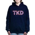 Taekwondo TKD Women's Hooded Sweatshirt