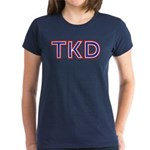 Taekwondo TKD Women's Dark T-Shirt