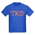 Taekwondo TKD Kids Dark T-Shirt