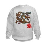 Chinese dragon Crew Neck