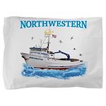 F/v Northwestern Pillow Sham