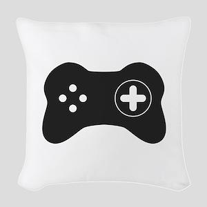 Game controller Woven Throw Pillow