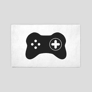 Game controller Area Rug