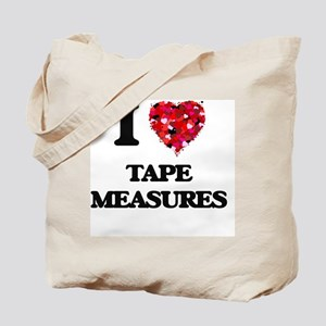I love Tape Measures Tote Bag