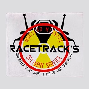 Racetrack Throw Blanket