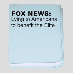 Anti FOX News baby blanket