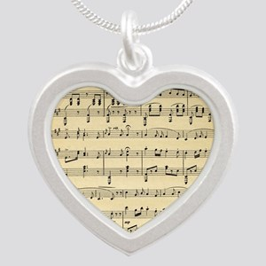 Antique Sheet Music Necklaces