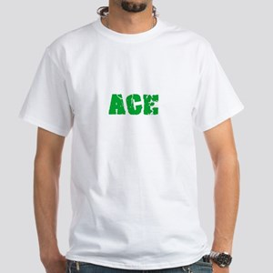 Ace Name Weathered Green Design T-Shirt