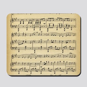 Antique Sheet Music Mousepad