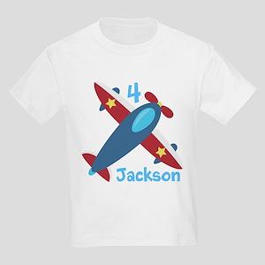 Airplane Birthday Kids Light T-Shirt