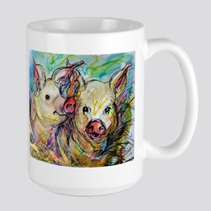 piglets, pig pair Mugs