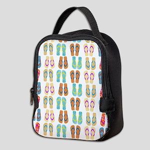 Beach Flip Flops Neoprene Lunch Bag